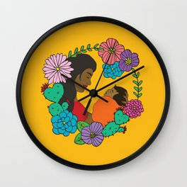 Amor de Madre Wall Clock