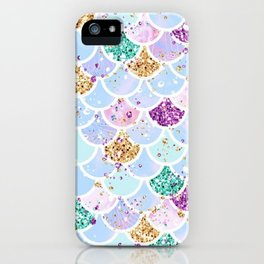 Sparkly Mermaid Tail iPhone Case