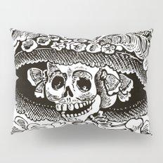 Calavera Catrina | Black and White Pillow Sham