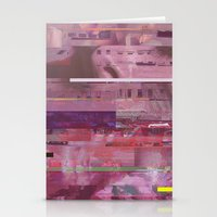 glitch Stationery Cards featuring Glitch  by Mikath