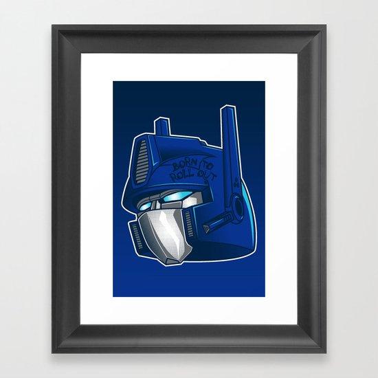Full Metal Prime Framed Art Print