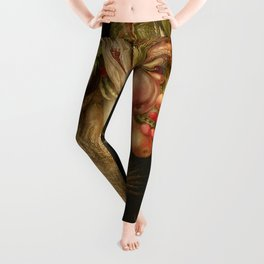 "Giuseppe Arcimboldo ""Four seasons - Summer"" Leggings"