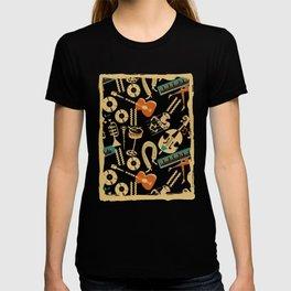 Jazz Rhythm (black) T-shirt