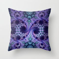A never ending visual journey Throw Pillow