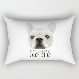 Pardon My Frenchie - French Bulldog Rectangular Pillow