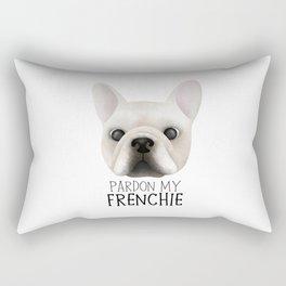 Pardon My Frenchie - French Bulldog Rectangular Pillow