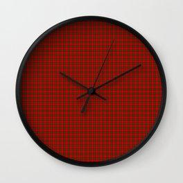 Seton Tartan Wall Clock