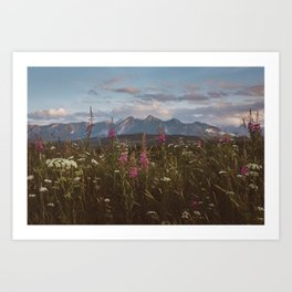 Mountain vibes - Landscape and Nature Photography Art Print