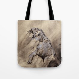 Heart of the Tiger Tote Bag