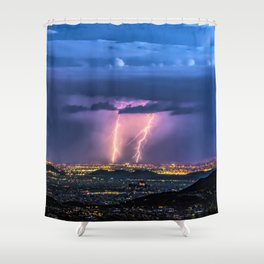 So Much Time Lost Shower Curtain