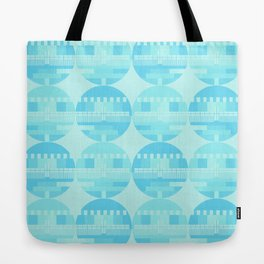 Pattern Screen Test Tote Bag