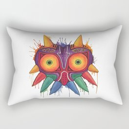 Majoras Mask Rectangular Pillow