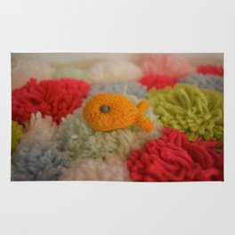 Knit Fish Rug