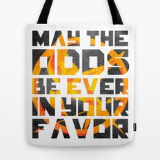 Hunger Games May the Odds Ever be in Your Favor Bright Tote Bag