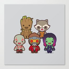 The Guardians Canvas Print