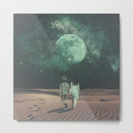 Moonlight Empire Metal Print