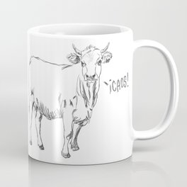 Chaos Cow Coffee Mug