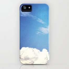 Cloud 9 iPhone Case