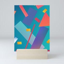 80s inspired art Mini Art Print