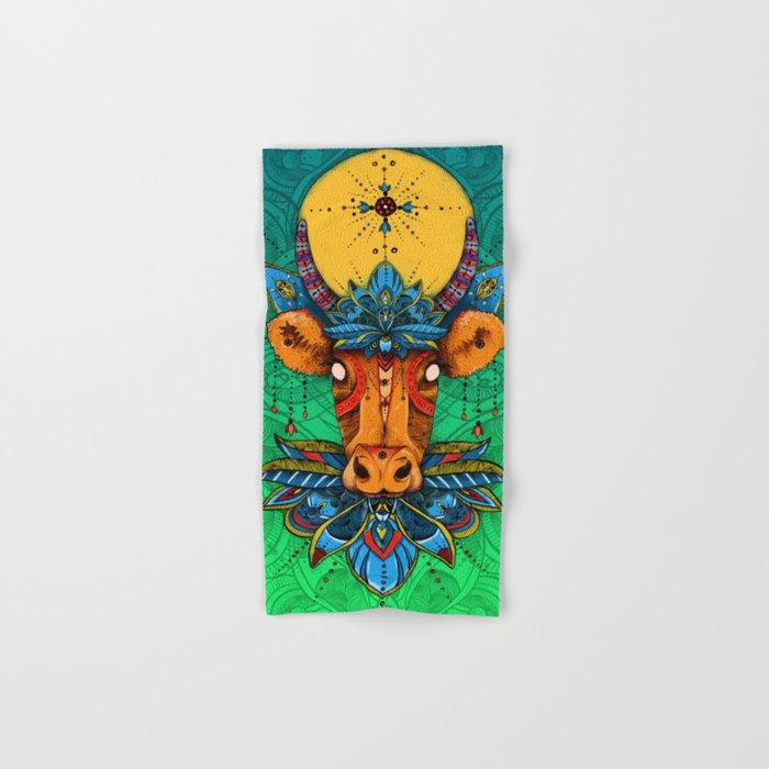 Holy Cow! Lotus. Hand & Bath Towel