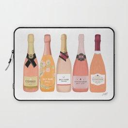 Rose Champagne Bottles Laptop Sleeve