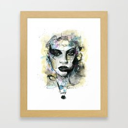 Soul On Fire Framed Art Print