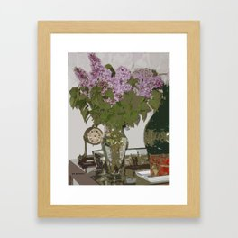Lilas Framed Art Print