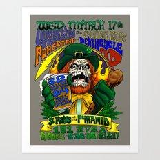 March 17, 2004 at The Pyramid Art Print