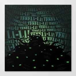 Lovecraft Shoggoth Canvas Print
