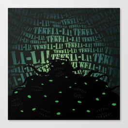 Lovecraft Shoggoth Canvas Print
