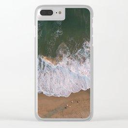 Ocean Shores Clear iPhone Case