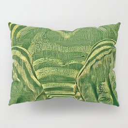 1276s-AK_3129 Aroused Motherboard Style Nude Woman Pillow Sham