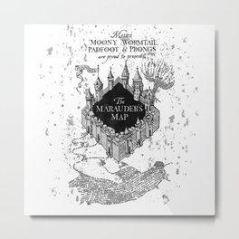 marauders map Metal Print