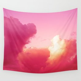 The battle of the light and shadow Wall Tapestry