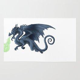 Black dragon Rug