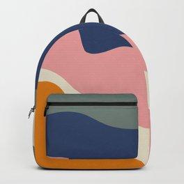 millennial color block Backpack