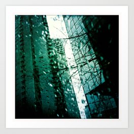 Diagonal Aspirations Art Print
