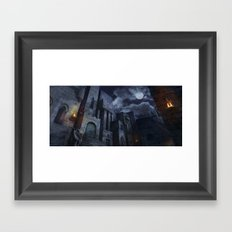 The Castle Framed Art Print