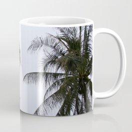 Tropical palm trees Coffee Mug