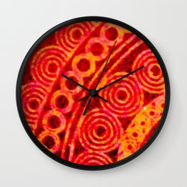 Rounded Corner Wall Clock