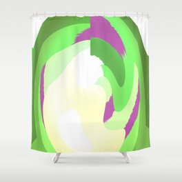 Enter The Green Shower Curtain