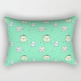 Ghost Pattern Rectangular Pillow