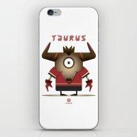 taurus iPhone & iPod Skins featuring TAURUS by Angelo Cerantola