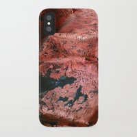geology iPhone & iPod Cases featuring Copper Sheet by Whimsical Notions Design