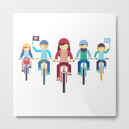 Critical Mass Metal Print