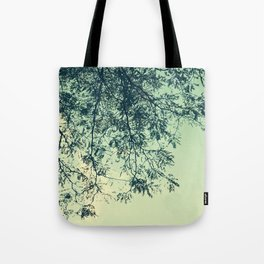 Title Trees Tote Bag