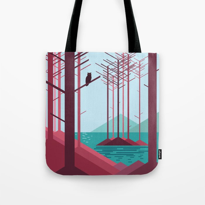 The guardian of the forest Tote Bag