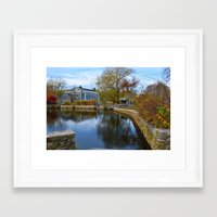cape cod Framed Art Prints featuring Cape Cod by Yleniuccia89