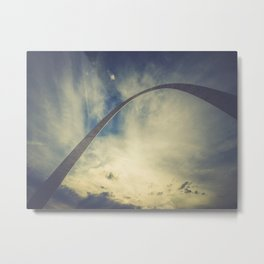St Louis Arch at Sunset Metal Print