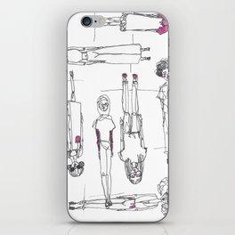 Topsy Turvey iPhone Skin